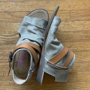 Blowfish - canvas sandals size 8